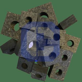 Carbon Fiber Composite Square Nuts from CeraMaterials