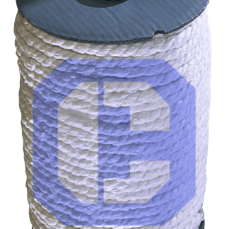 Ceramic Fiber 3-Ply Rope from CeraMaterials