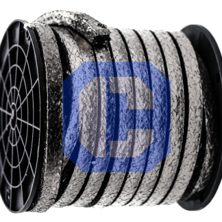 Graphite yarn with an Inconel Wire Insert from CeraMaterials