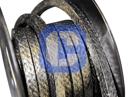 GrahpiBraid or Graphite Compression Packing from CeraMaterials