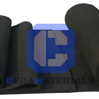 GFE-1 Specialty Graphite Electrode Felt from CeraMaterials