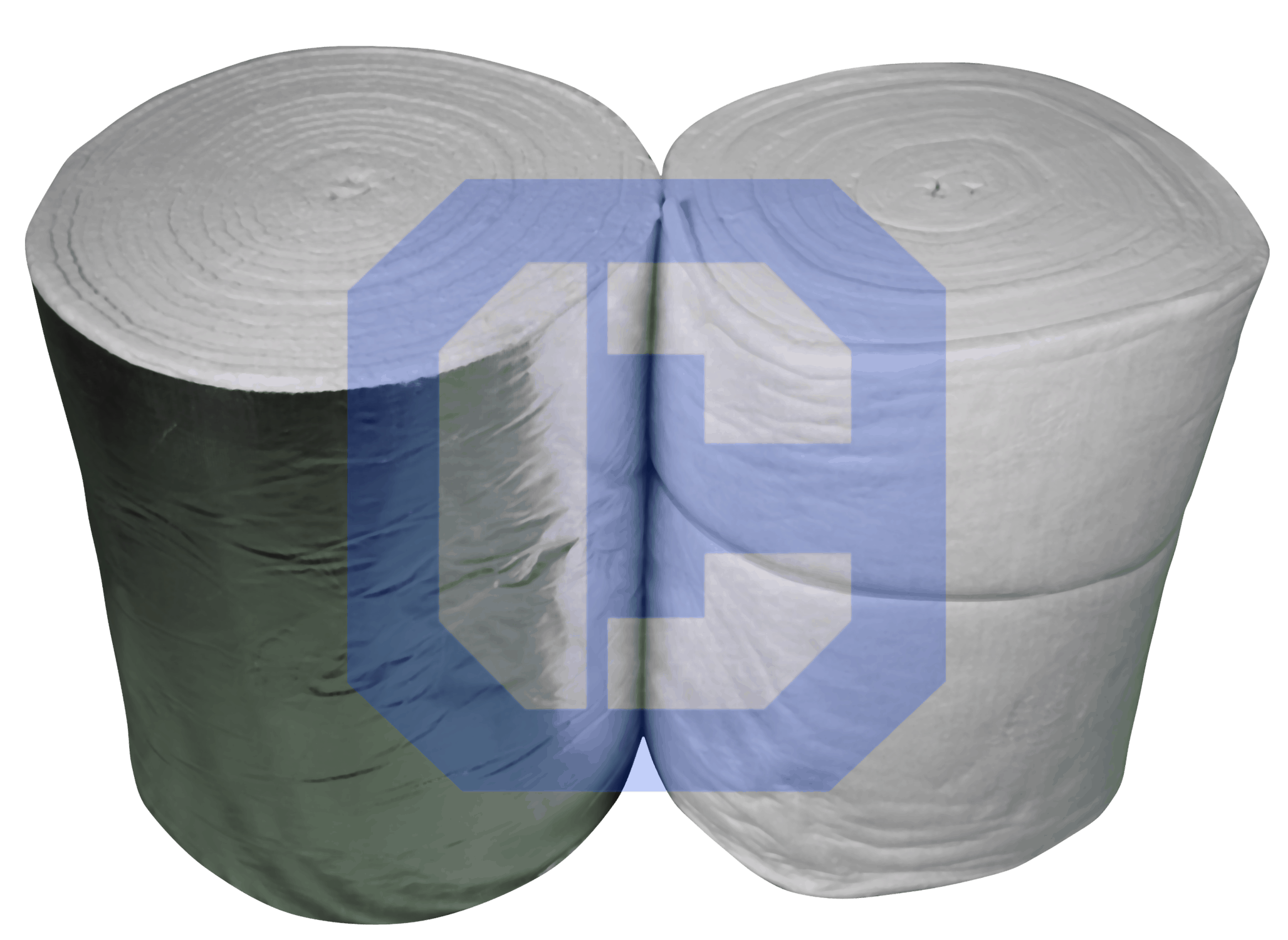Ceramic Fiber Blanket with Aluminum and without from CeraMaterials